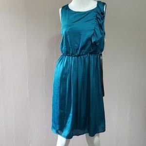 Maurices Teal Dress NWT Sz S